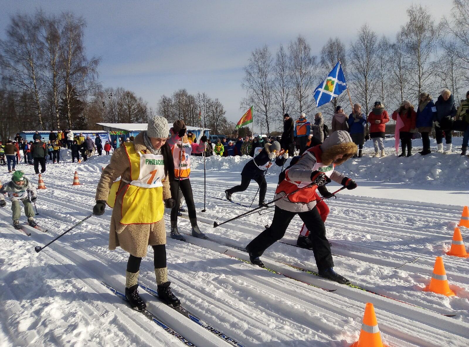 В поселке Победа прошли традиционные зимние соревнования