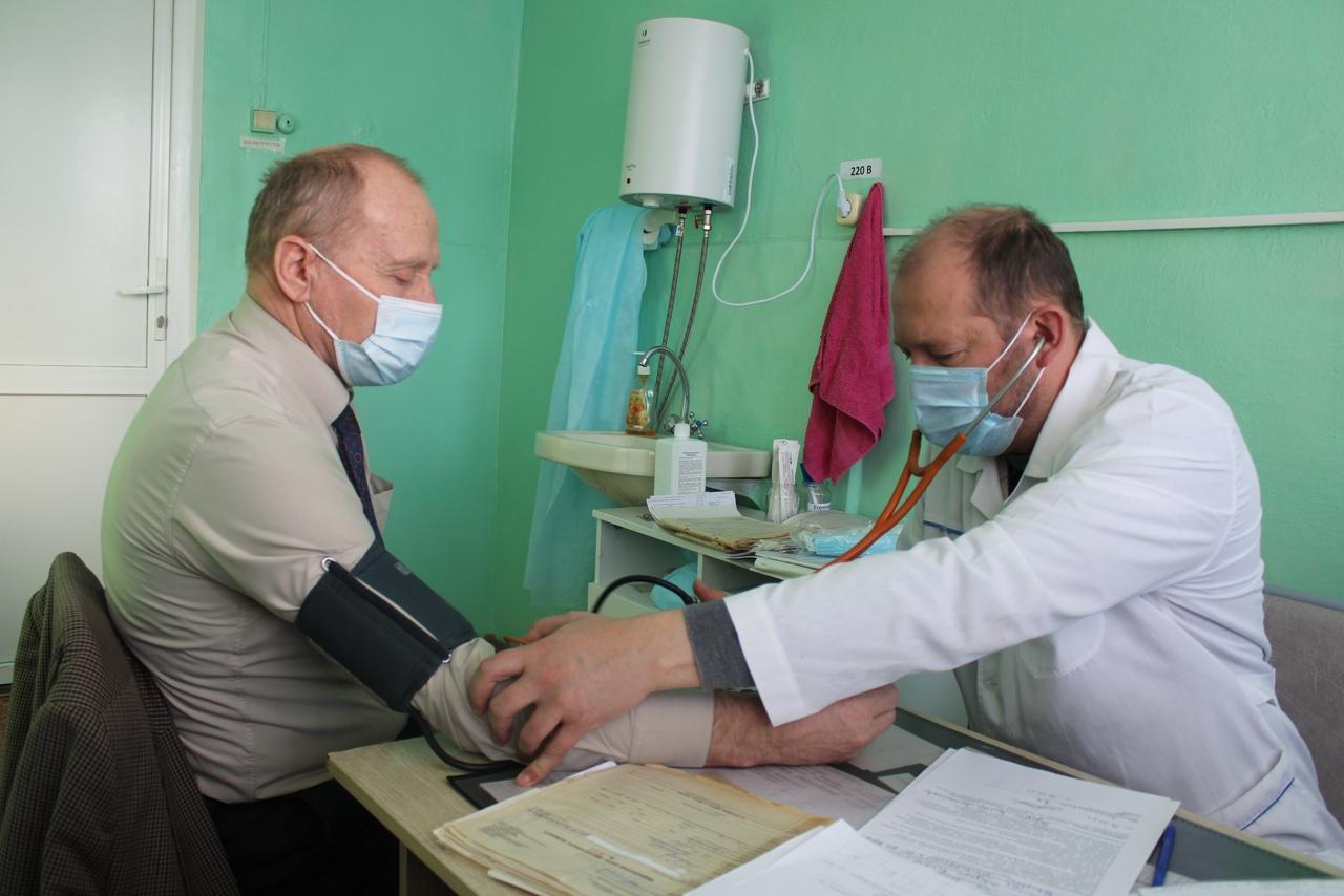 За один день в Сонково от коронавируса вакцинировались 60 человек
