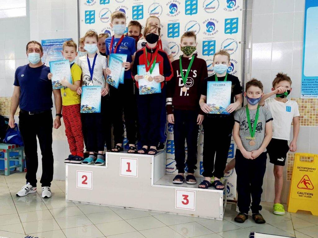 Пловцы из Нелидово привезли домой победу