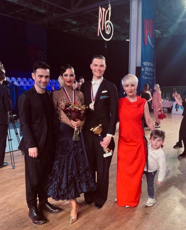 Пара из Твери заняла первое место на чемпионате по танцам