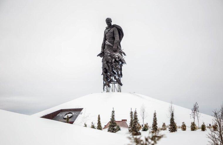 Годовщину освобождения Ржева проведут на мемориале Советскому солдату