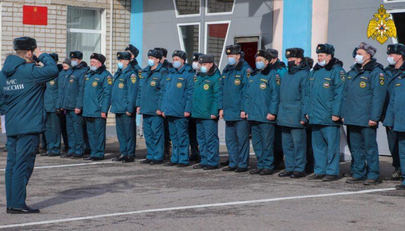 Занятия по оперативному мастерству МЧС прошли во Ржеве