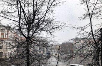 В Тверскую область идет снегопад и сильный ветер