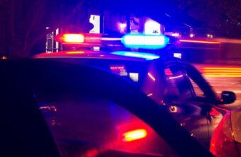 Грузовик протаранил легковушку на трассе М11