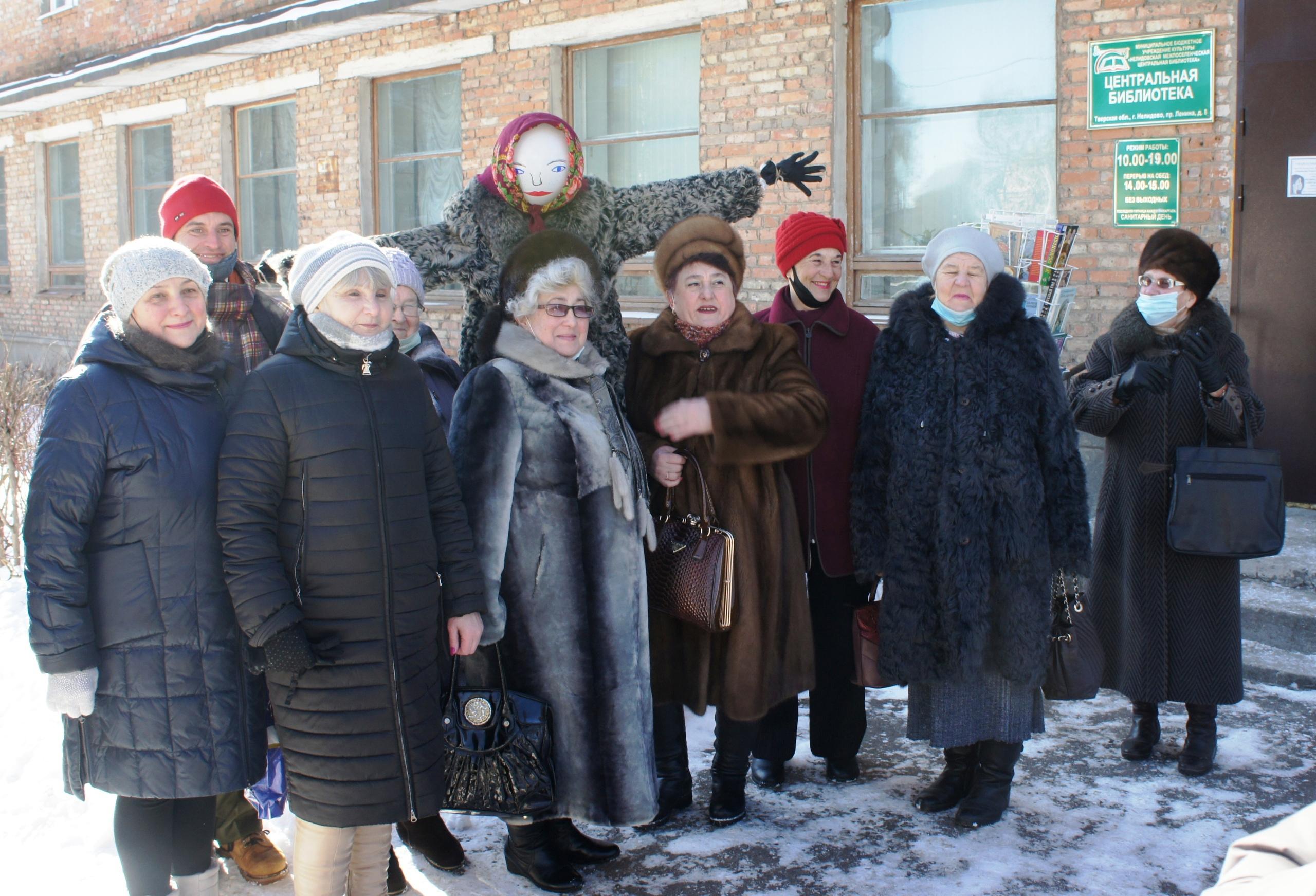 Фольклорный праздник Масленица в Нелидово