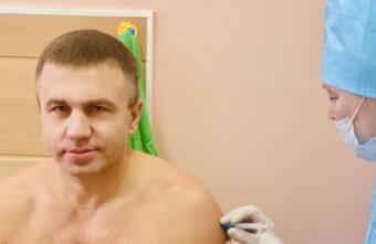 Андрей Николашкин: делать прививку или нет?Да, у меня сомнений не было