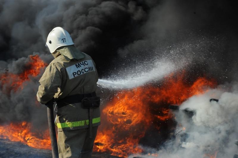 На месте пожара в Тверской области обнаружили тело
