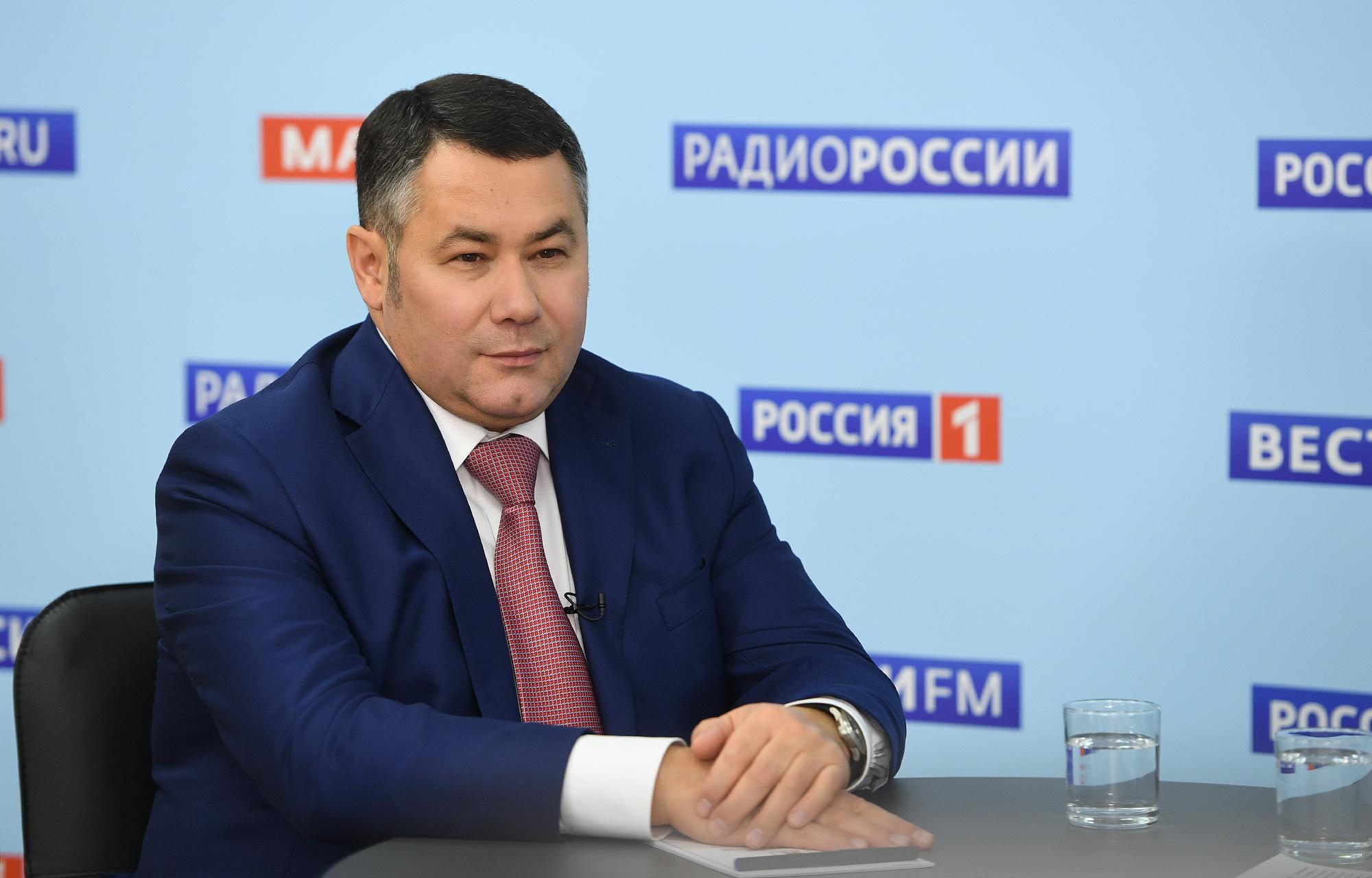 Игорь Руденя вспомнил о первых днях на посту губернатора Тверской области