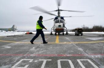 Из Твери в Санкт-Петербург вертолетом доставили маленькую пациентку