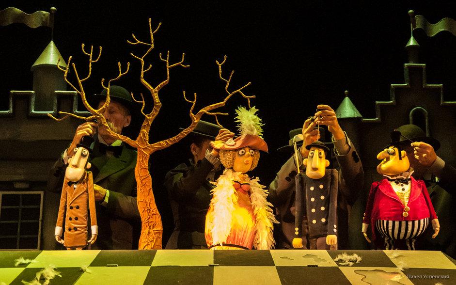 Привидение Кентервиля на сцене Тверского театра кукол