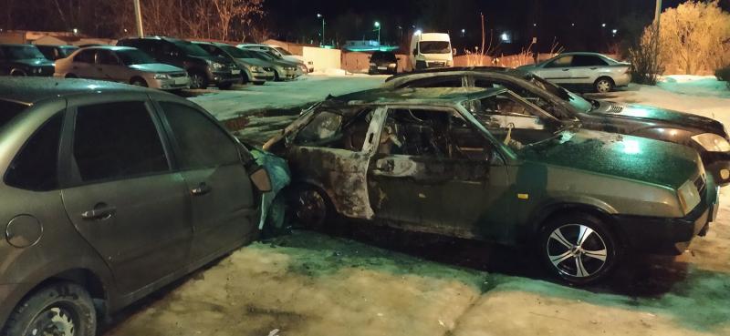 В Твери полицейские задержали подозреваемого в трёх поджоге машин в Химинституте