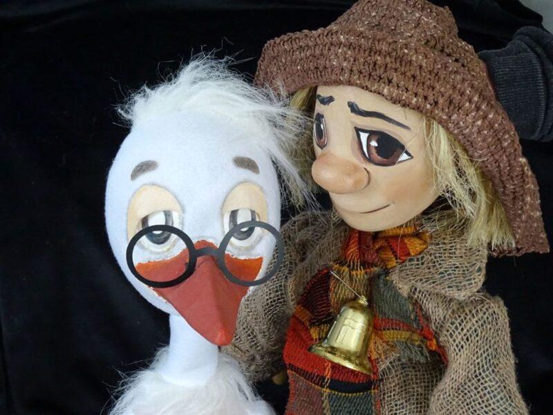В Тверском театре кукол покажут детский спектакль «Аистенок и Пугало»