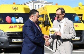 Глава Оленинского округа рассказал об изменениях в муниципалитете за пять лет работы Игоря Рудени на посту