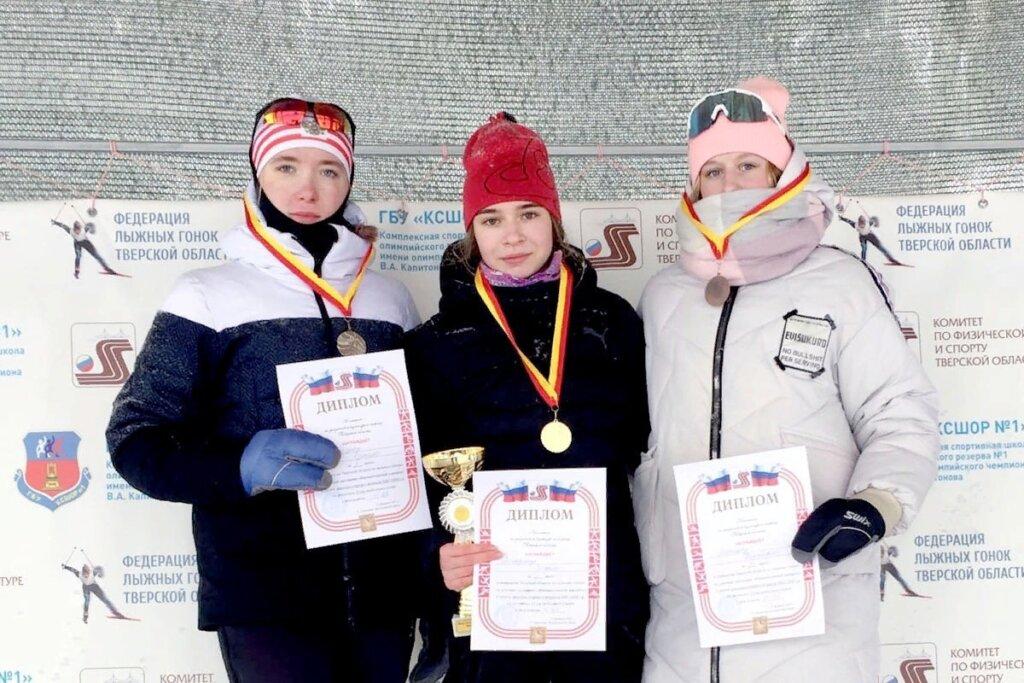 Воспитанники кашинской спортшколы завоевали золото в престижных лыжных гонках