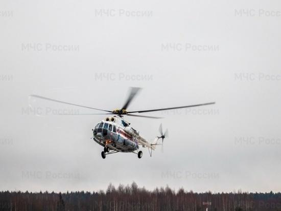 Пациента из Кимр доставили в Тверь на вертолете