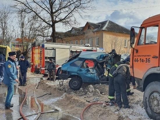 После ДТП 15-летний пассажир попал в реанимацию