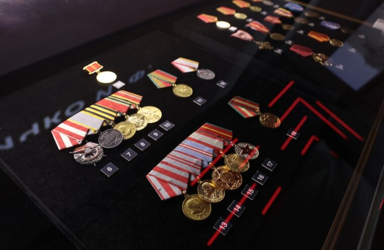 У мемориала Советскому солдату в музее открылась новая выставка