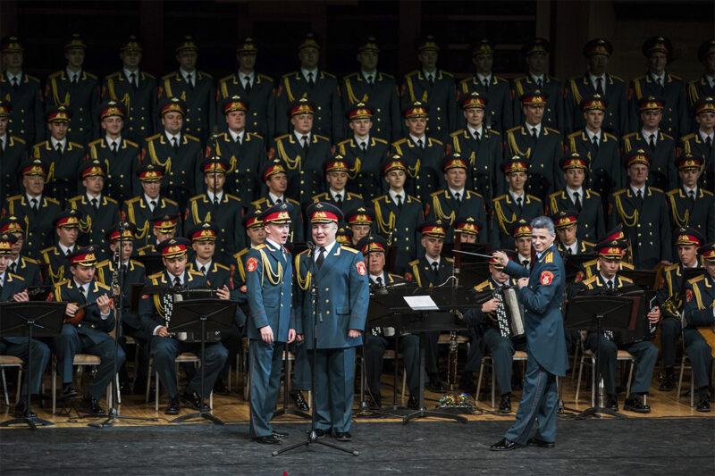 В Твери выступит легендарный ансамбль песни и пляски Российской Армии имени А.В. Александрова