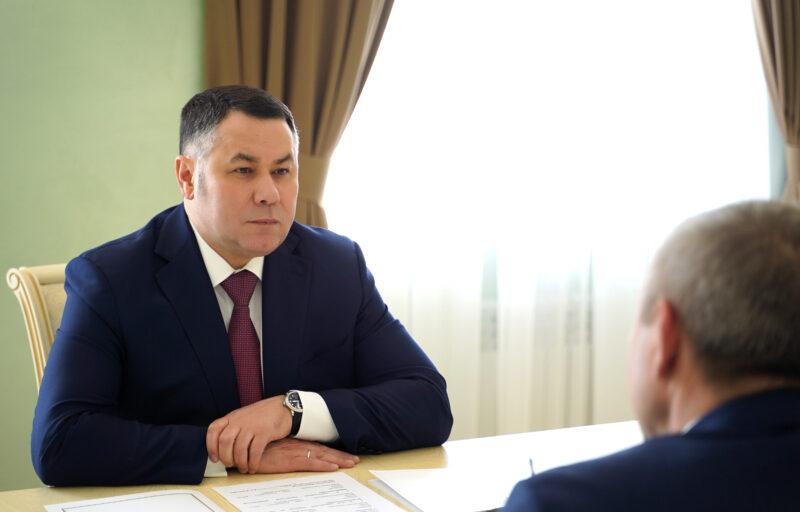 Губернатор посетил с рабочим визитом Калязин
