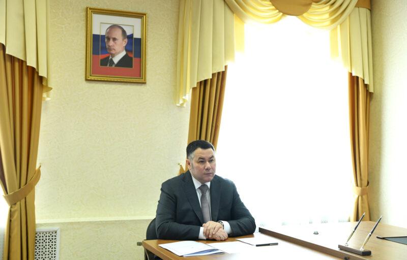 Губернатор Игорь Руденя провел личный прием граждан
