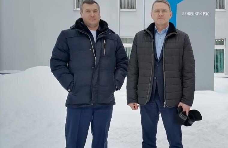 Глава Бежецкого района посетил Бежецкий РЭС филиала «Россети Центр Тверьэнерго»