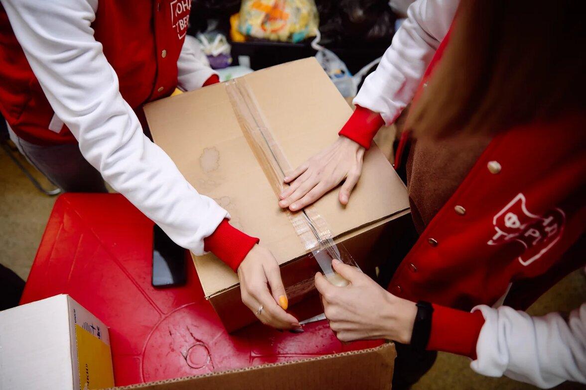 В Тверской области продолжается благотворительная акция «МыВместе»