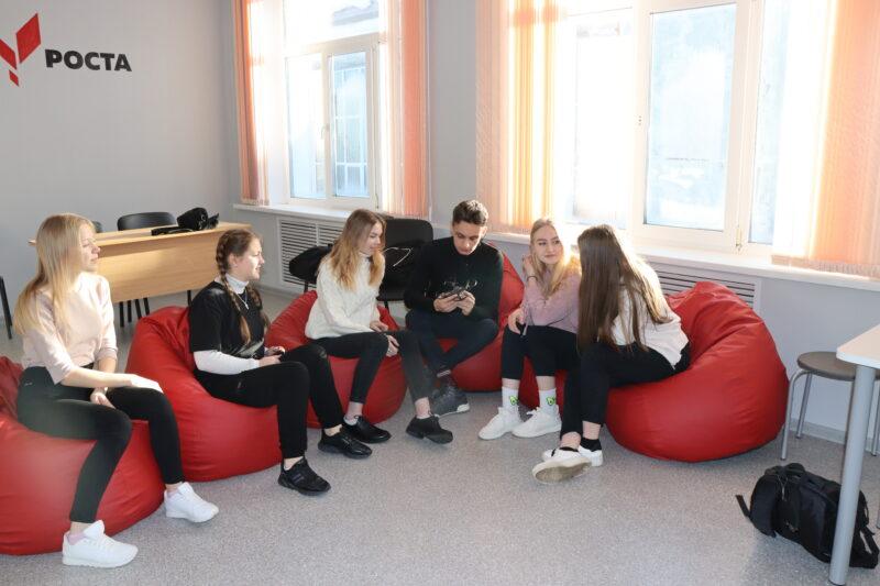В Молоковской школе открылся центр цифрового и гуманитарного образования «Точка роста»