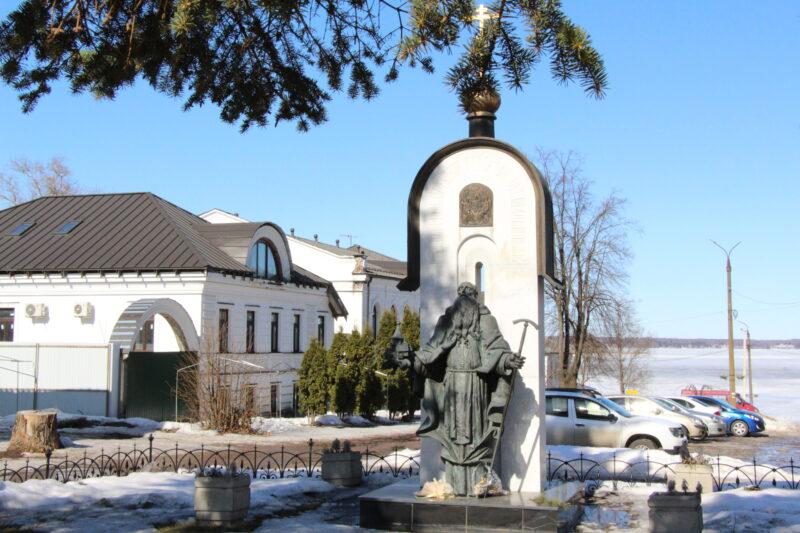 Журналисты побывали в местах, связанных с жизнью святого преподобного Макария Калязинского
