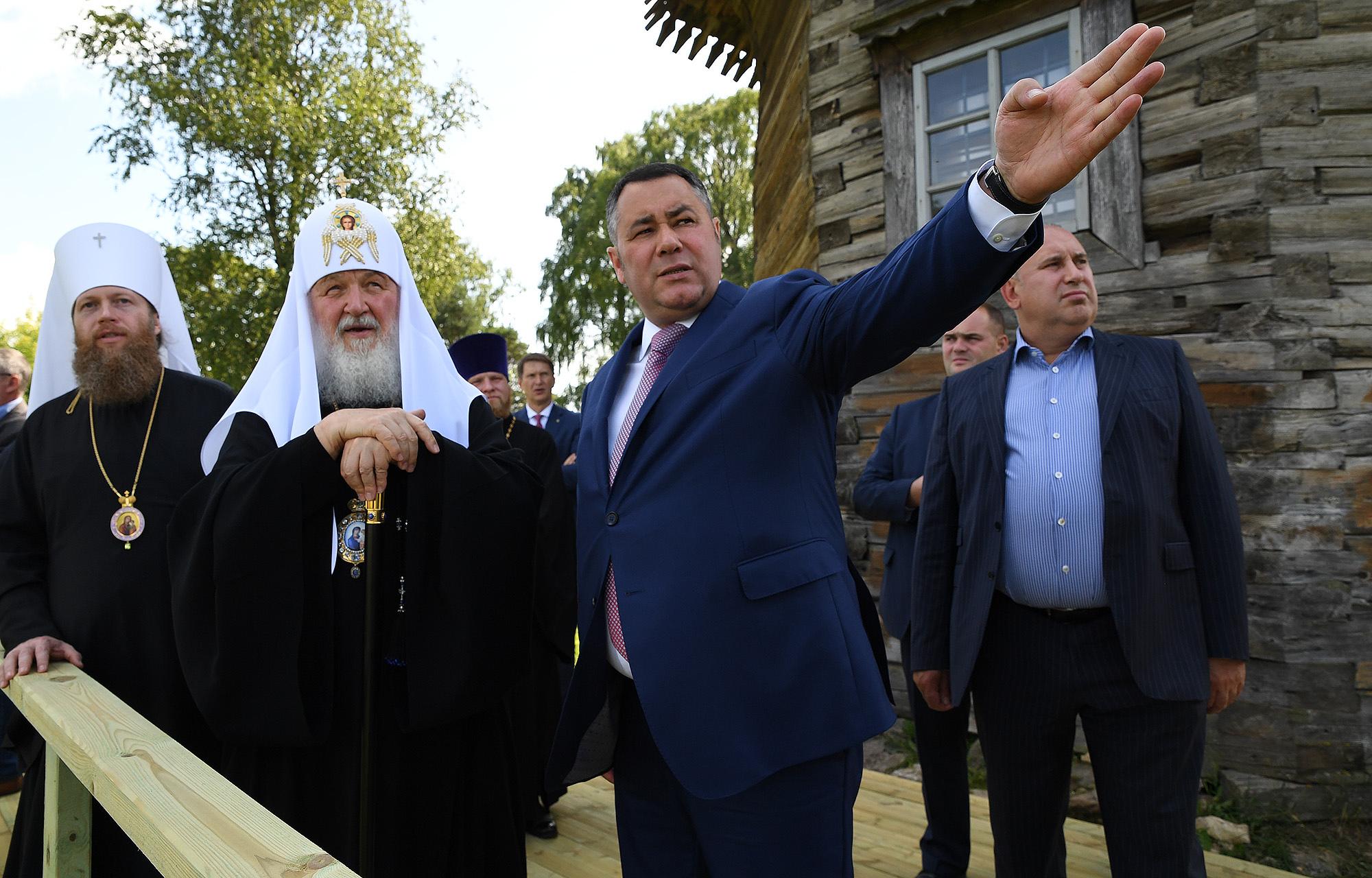 От Путина до Гергиева: кого в тверском крае принимал Игорь Руденя