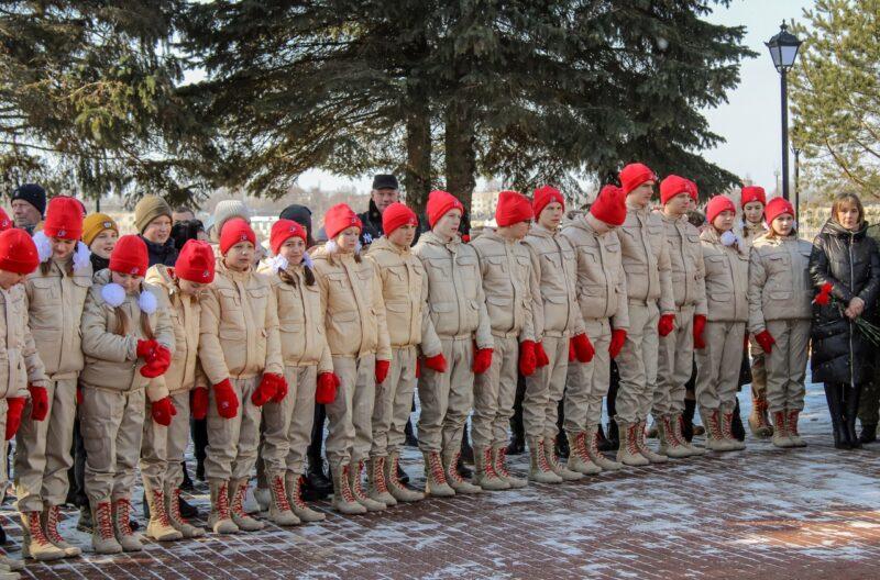 """Ржевские школьники пополнили ряды """"Юнармии"""""""