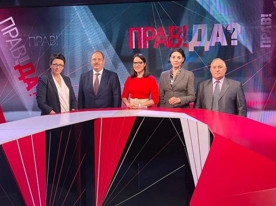 Житель Оленинского МО высказался о развитии российского спорта на федеральном канале