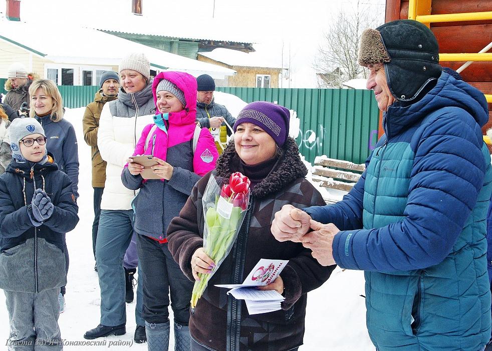 Женский праздник запомнился жителям Конаково легкоатлетическим пробегом
