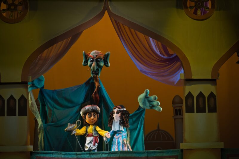 """В Театре кукол покажут спектакль """"Волшебная лампа Аладдина"""""""