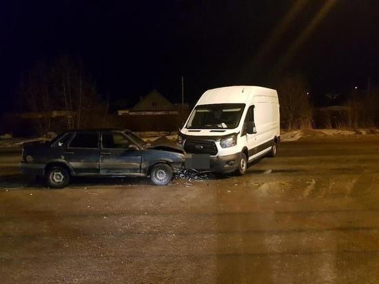 Забыл пристегнуться: в Твери в аварии пострадал водитель ВАЗа