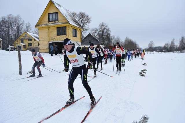 В Западной Двине прошли областные соревнования по лыжным гонкам