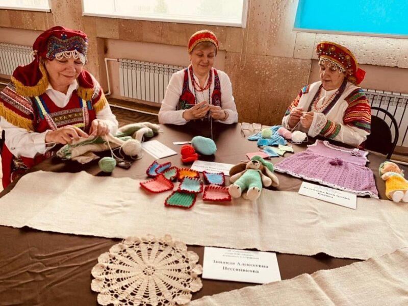 Районный фестиваль «Волшебство вязания» прошел в Конаково