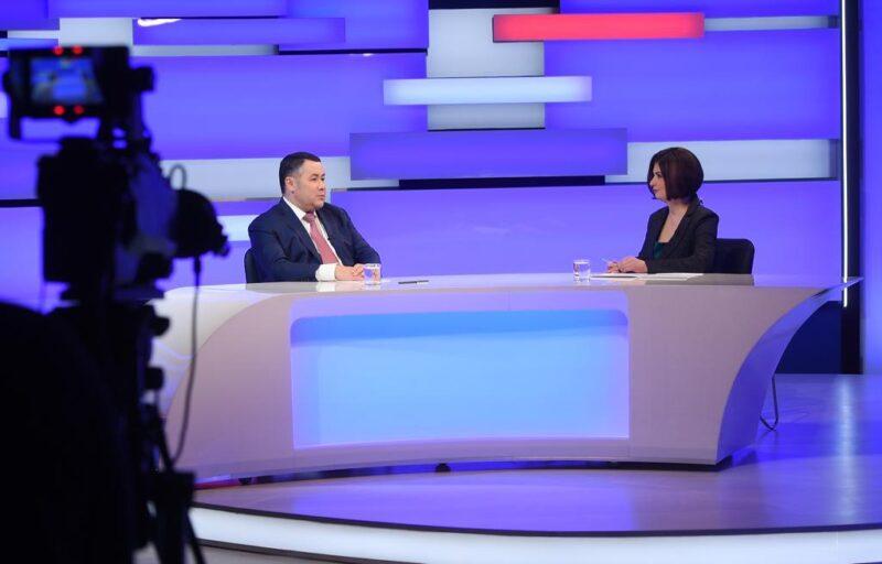 Игорь Руденя в прямом эфире отвечает на главные вопросы