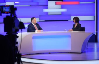 Игорь Руденя в прямом эфире рассказал о детском желании
