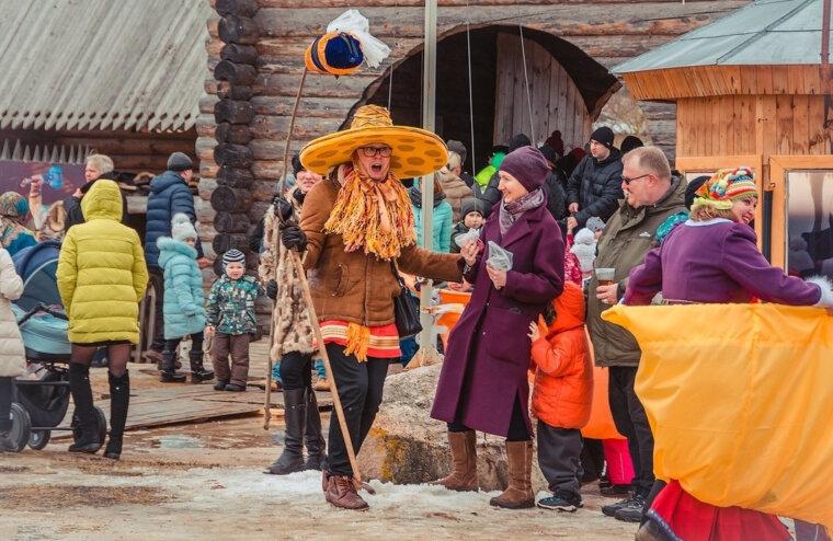 В  «Новоторжском кремле» в Тверской области пройдут гуляния в честь масленицы