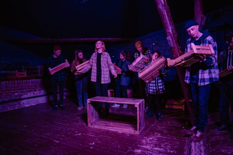 Студенты Тверского колледжа культуры представят в ТЮЗе новый спектакль