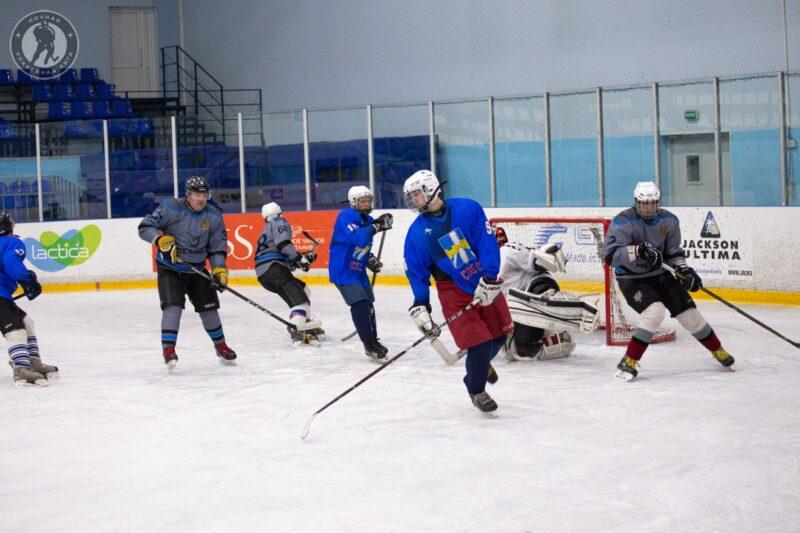 Во Ржеве прошёл матч Ночной хоккейной лиги