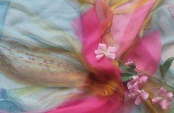 В ботаническом саду пройдет мастер-класс по росписи шелкового платка