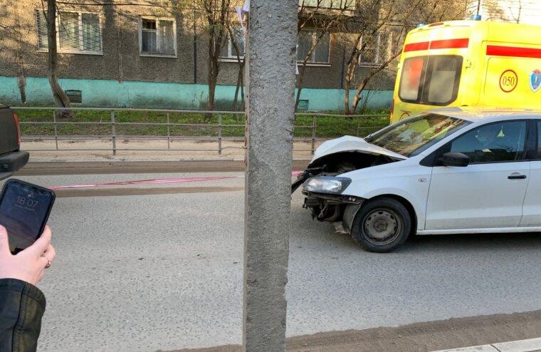 В Твери на Спортивном переулке произошла авария