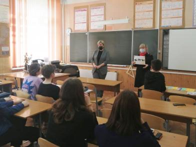 В Твери прошла встреча государственных служащих со школьниками