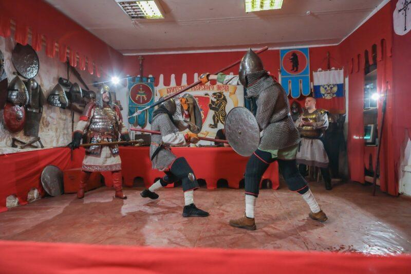 800-летие Александра Невского отпраздновали копейными состязаниями