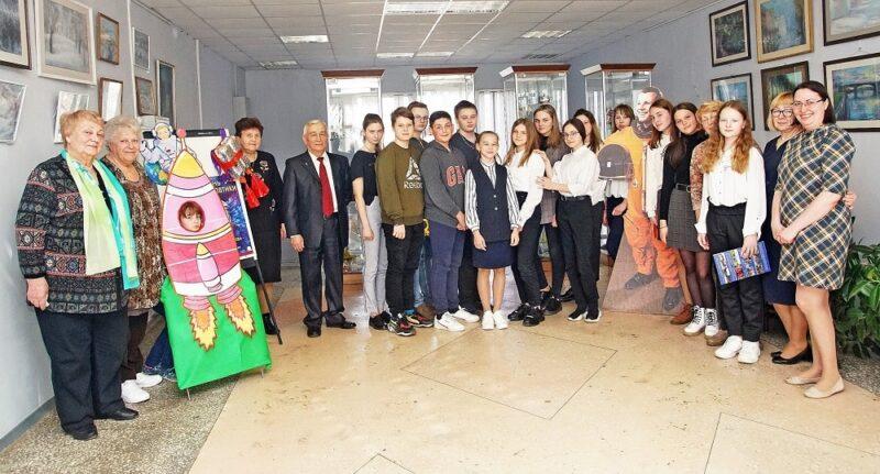 Школьникам Конаково рассказали о полете Гагарина в космос