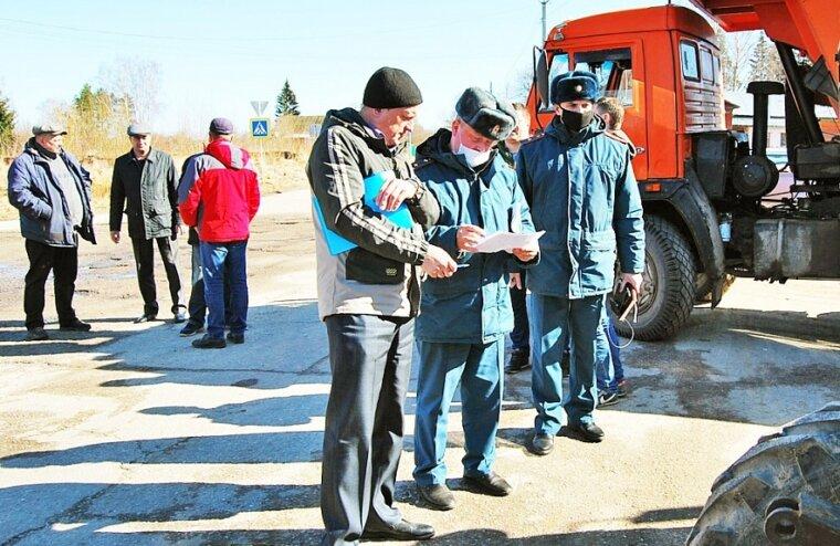 В Конаковском районе осмотрели технику на предмет готовности к пожароопасному периоду