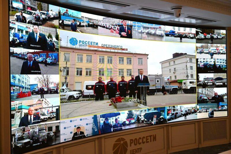 Игорь Маковский дал старт автопробегу «Энергетики - Великой Победе»