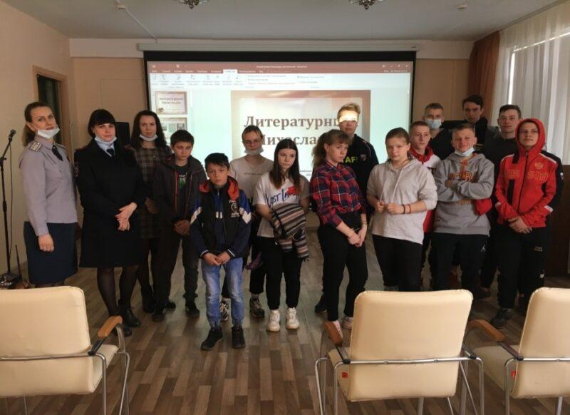 «Трудным» подросткам из Тверской области рассказали о поэтах