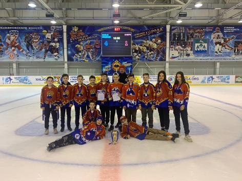 Турнир «Volga CUP» завершился вторым местом для Конаковских хоккеистов